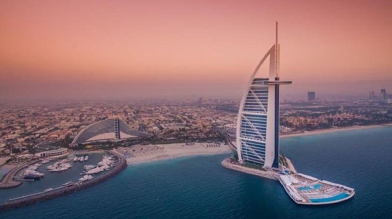 두바이 버즈 알 아랍 주메이라