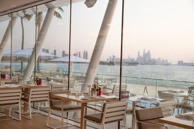 두바이 버즈 알 아랍 주메이라 레스토랑 스카이뷰